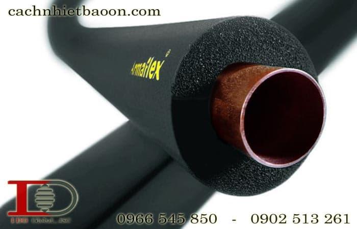 Ống bảo ôn cao su lưu hóa superlon bảo ôn ống đồng
