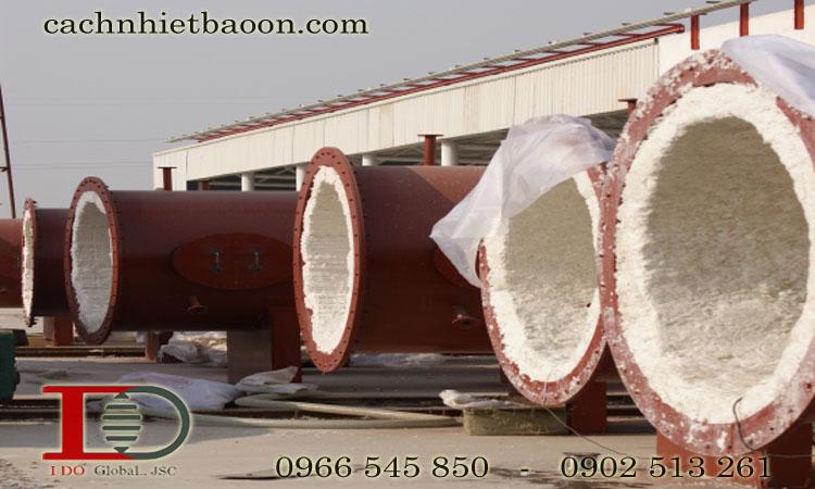 Ứng dụng bông gốm ceramic chịu nhiệt