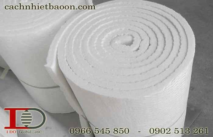 Bông gốm cách nhiệt lò nung ceramic fiber blanket