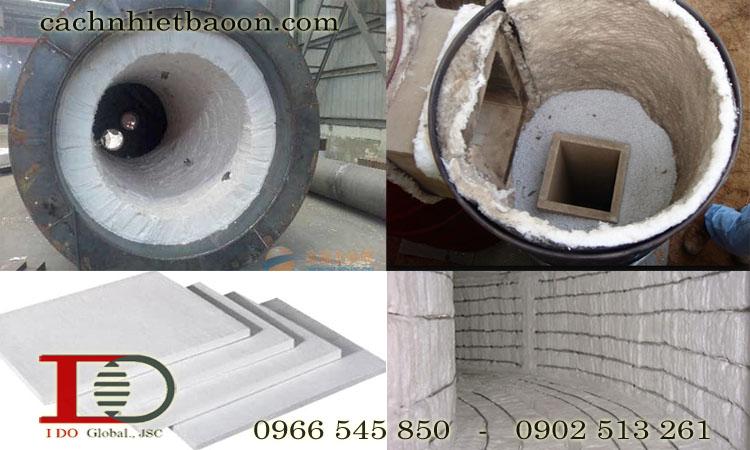 Ứng dụng của bông sợi gốm ceramic fiber