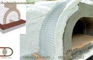 Hướng dẫn thi công bông gốm ceramic lò nung