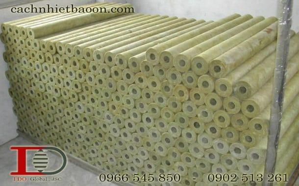 Bông khoáng dạng ống định hình bảo ôn
