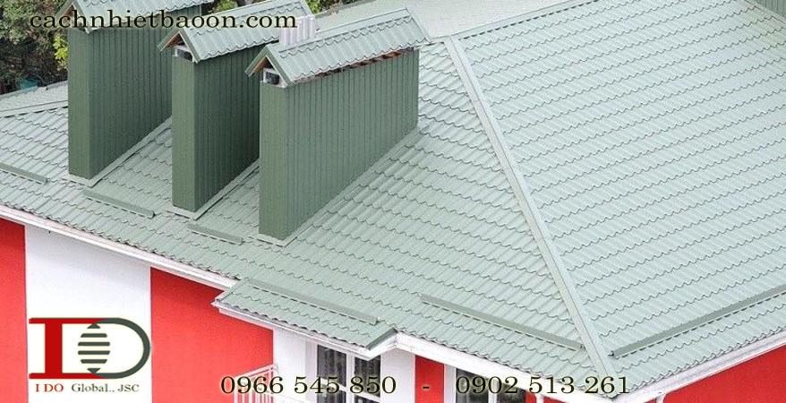 Giải pháp chống nóng mái tôn