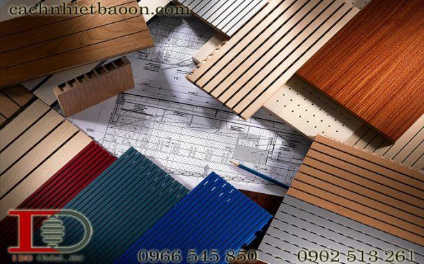 Bảng màu gỗ tiêu âm