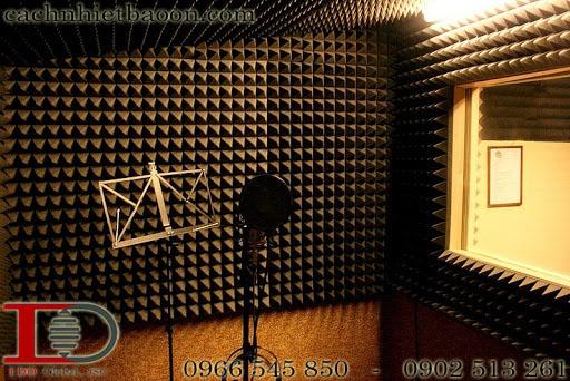 Mút gai tiêu âm studio màu xám lông chuột đẹp