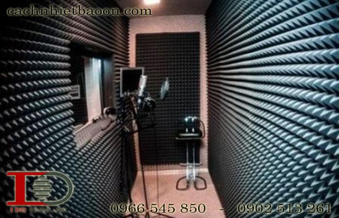 Mút gai tiêu âm studio màu xám