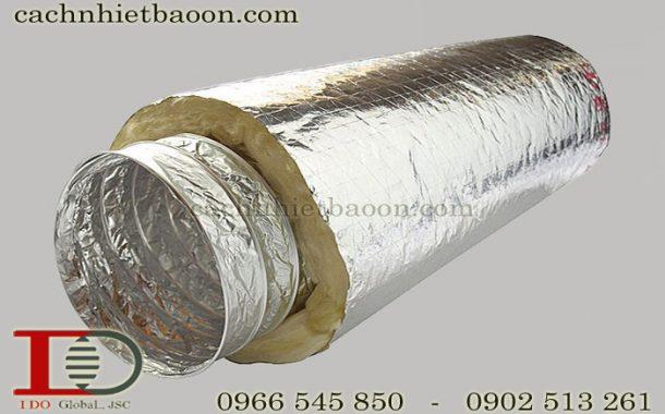 Ống gió mềm có bảo ôn làm đường ống hơi
