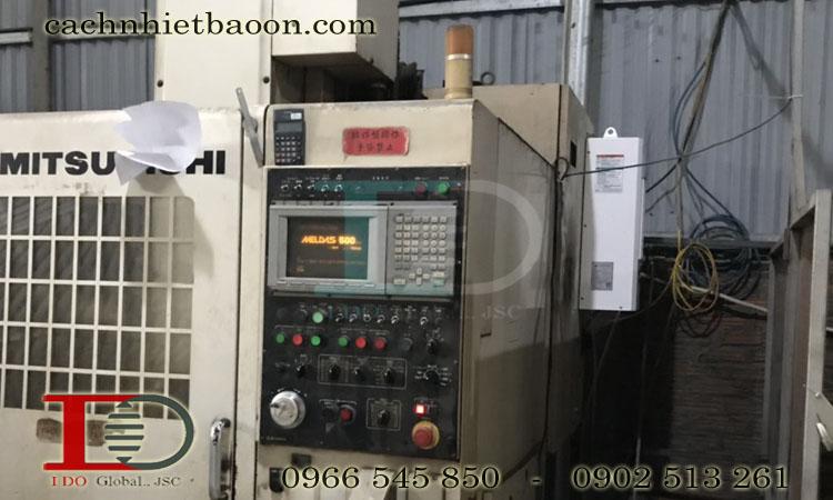 Làm mát tủ điều khiển máy CNC bằng Điều hòa tủ điện