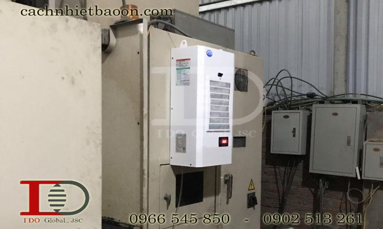Điều hòa tủ điện MCA06 hoạt động với chu trình hoàn toàn khép kín