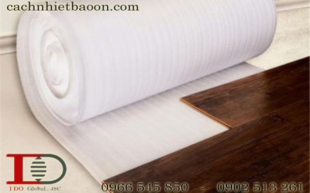 Mút xốp PE trơn lót sàn gỗ