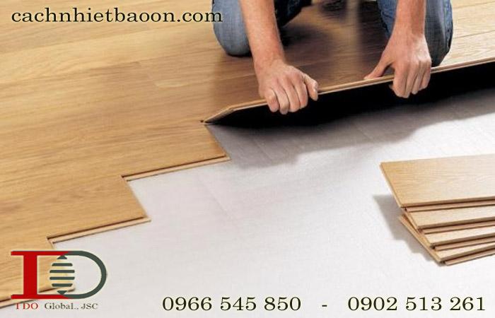 Mút xốp Polyethylen lót sàn gỗ