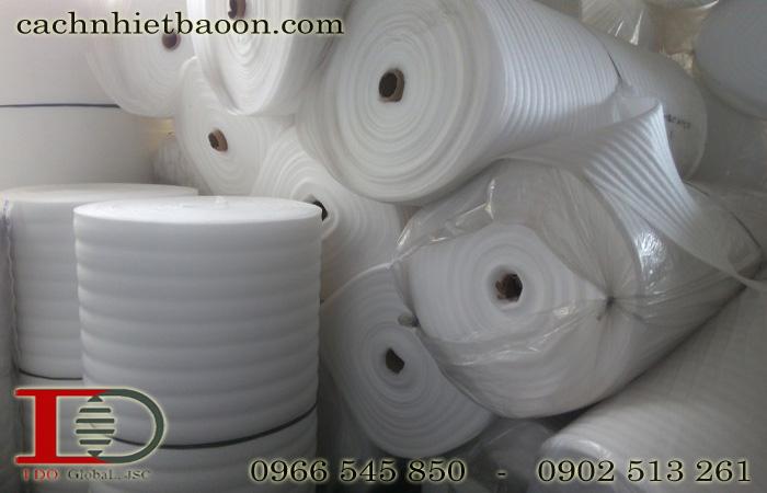 Mút xốp polyethylene lót sàn dạng cuộn