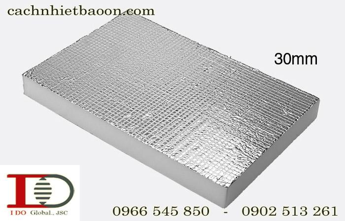Mút xốp Pe-OPP một mặt bạc dày 30mm