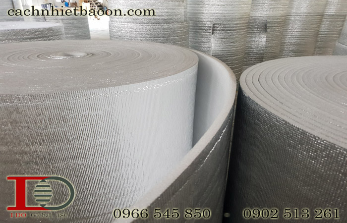 Xốp cách nhiệt pe-opp một mặt bạc chống nóng tường