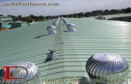 Phân tích 3 giải pháp chống nóng mái tôn hay dùng