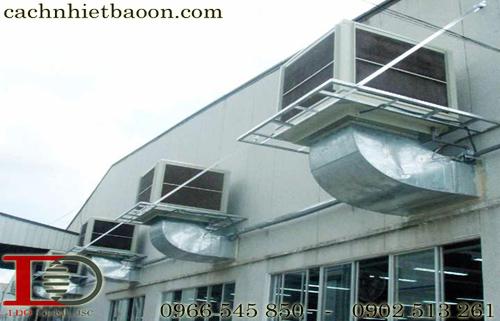 Điều hòa không khí công nghiệp cho chống nóng nhà xưởng