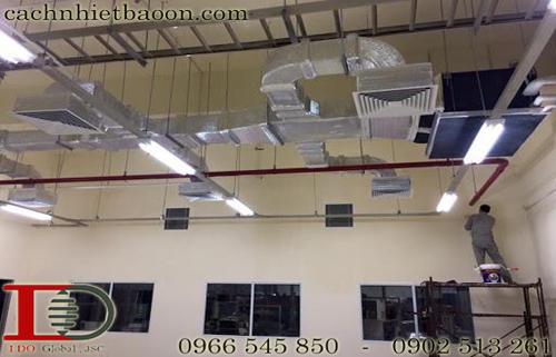 Hệ thống điều hòa tổng chống nóng nhà xưởng