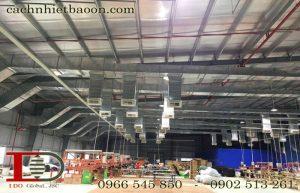 Chống nóng nhà xưởng bằng vật liệu chống nóng