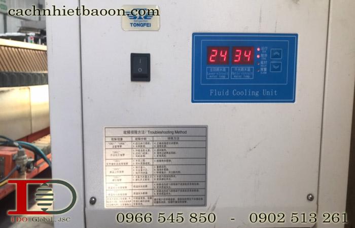 Màn hình hiển thị nhiệt độ điều hòa tủ điện
