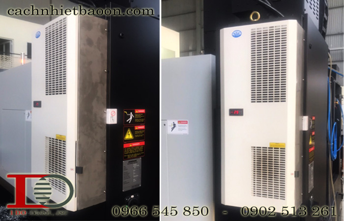 Đóng kín tủ điện khi vận hành Điều hòa tủ điện MCA12